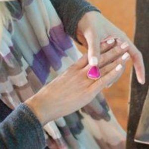 Towne & Reese Willa raspberry ring Emily Maynard